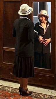dancing in the mirror (after seref akdik) by ozlem simsek