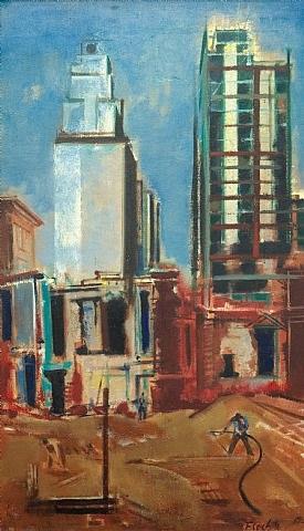 construction in new york by joseph floch