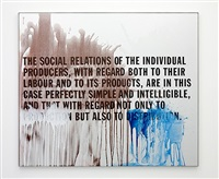marx / capital: the social relations of the individual producers, with regard both to their labour and to its products, are in this case perfectly simple and intelligible, and that with regard not only to production but also to distribution. by thomas locher