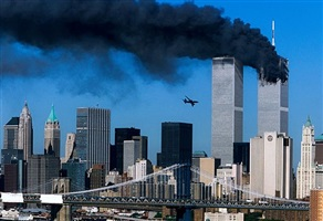 9h03, 11 septembre 2001, new york city (1/4) by robert clark
