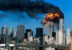 9h03, 11 septembre 2001, new york city (4/4) by robert clark
