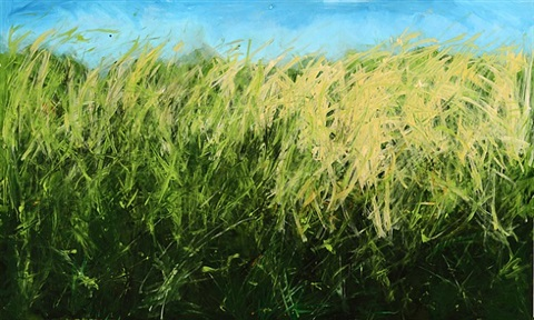 windswept grasses by cayetana conrad
