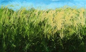 windswept grasses by cayetana conrad