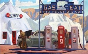 the iceberg cafe by dennis ziemienski
