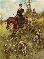 fox hunt by walter granville-smith