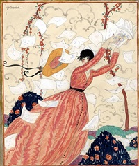 vogue cover by georges lepape