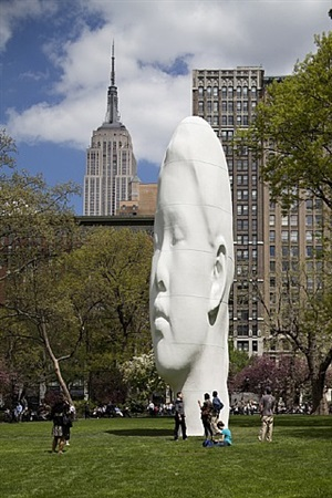 echo by jaume plensa
