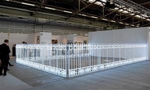 armory fence by iván navarro