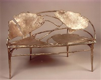 banc (model ginkgo) by claude lalanne