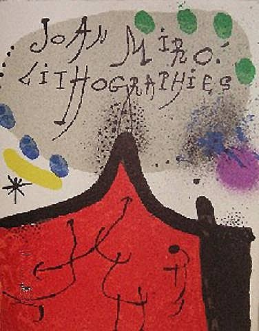 lithographs, vols i-iv by joan miró