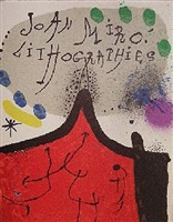 lithographs, vols i-iv by joan miró