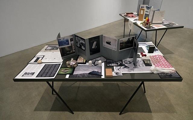 installation view by tris vonna-michell