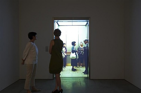 installation view by leandro erlich
