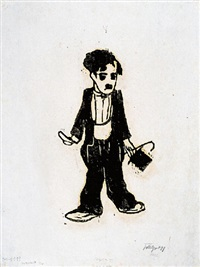 chaplin by friedrich karl gotsch