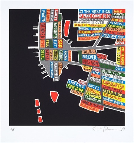 metallic manhattan by stanley donwood