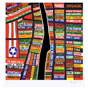 the art of mapping by stanley donwood