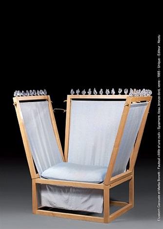 fauteuil 'mille et une nuit' by elizabeth garouste and mattia bonetti