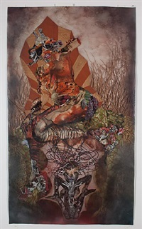 root of all eves by wangechi mutu