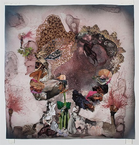before punk came funk by wangechi mutu