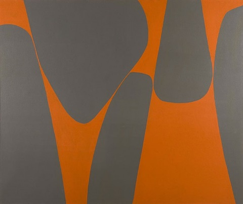 Magical Space Forms by Lorser Feitelson on artnet