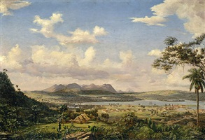 the bay of matanzas, cuba by charles dewolf brownell