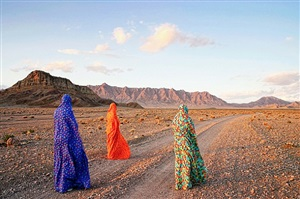 chadornama - on the road by haleh anvari