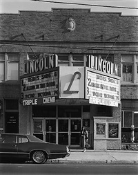 lincoln theater, north arlington, nj by george tice