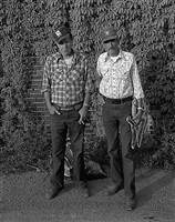 joe crowder & charles nelson, hannibal, mo by george tice