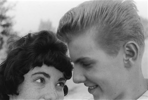 self-portrait with barbara, memphis, tn by george tice