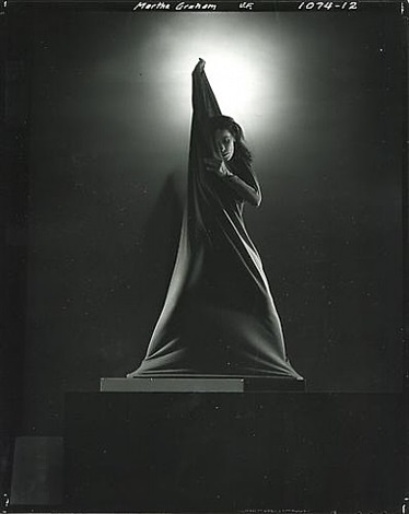 martha graham by edward steichen