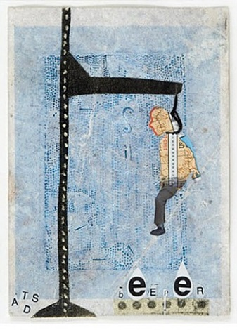 hangman series (mail art) by daniel davidson and drew beattie
