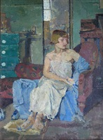 the blue chemise, yeomans row by malcolm drummond