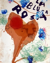 sexual spring like winter series- la blusa rosa 2 by julian schnabel