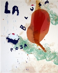 sexual spring like winter series- la blusa rosa 1 by julian schnabel