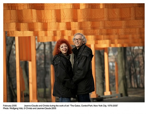 lot#5: an intimate visit for four around christo's new york soho studio led by the artist himself by christo and jeanne-claude