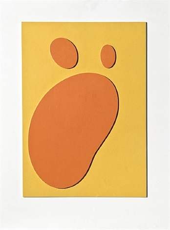 constellation ensoleillée (sonnige konstellation/sunny constellation) by hans arp