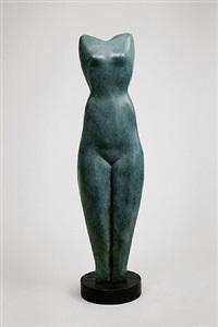 symmetrischer torso / symmetric torso by alexander archipenko