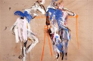 women and sawhorses by karen schwartz