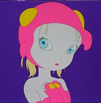candy girls s-39 by yoshitaka amano