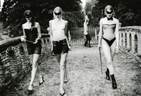 guardians ( women walking away) by ellen von unwerth
