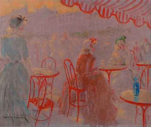 café place blanche by louis icart