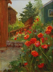 telluride poppies by kathy anderson