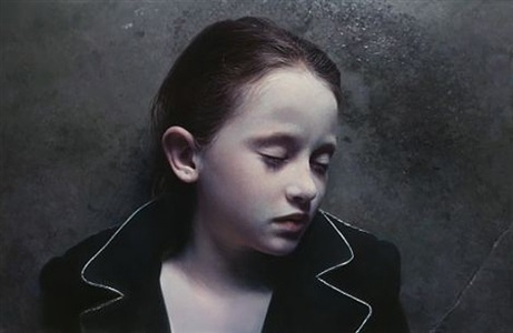 gottfried helnwein the child dreams-in memory of hanoch levin by gottfried helnwein
