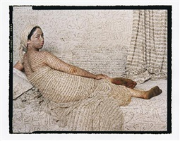 les femmes du maroc: la grand odalisque by lalla essaydi