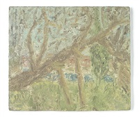 cherry tree, winter by leon kossoff