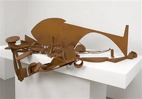 "table piece y-94 ""glacier"" by sir anthony caro"