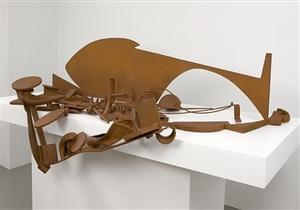 """table piece y-94 """"glacier"""" by anthony caro"""