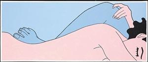 blue leg by john wesley