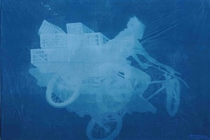 delivery bicycles (4) by zhang dali