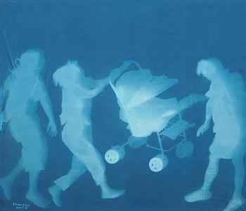 life (3) by zhang dali